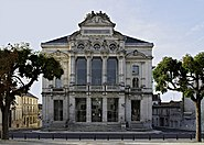 Angoulême Théâtre façade 2012