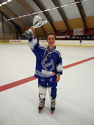 Anjali Thakker - Anjali Thakker Swedish Inline Hockey Champion 2016
