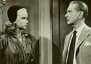 Dreamboat (film) - Anne Francis and Clifton Webb in Dreamboat