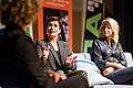 Annechien Steenhuizen en Dionne Stax bij het Festival van de Journalistiek 2017 (37447589665).jpg