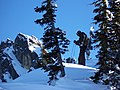 Anthony Lakes - Skiier Hiking into Backcountry, Wallowa-Whitman National Forest (31968646101).jpg
