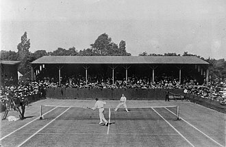 Beals Wright - 1910 Wimbledon All Comers' Final against Tony Wilding