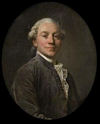Antoine-Léonard Thomas - DUPLESSIS Joseph Siffred: Portrait d'Antoine-Léonard Thomas