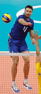 Antonin Rouzier French volleyball player