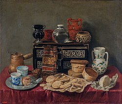Antonio de Pereda: Still-Life with an Ebony Chest