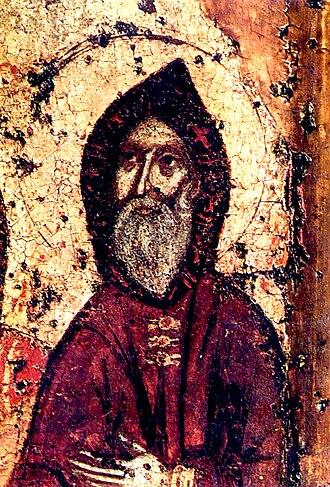 Anthony of Kiev - St. Anthony of Kiev, co-founder of the Kiev Pechersk Lavra.