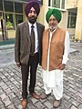 Anup Virk and Harvinder Singh ,Punjabi language poets 01.jpg