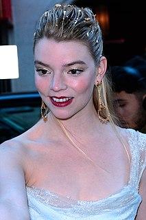 Anya Taylor-Joy actress and model