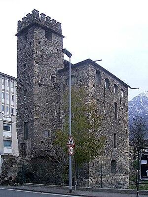Aosta - Tour du Lépreux.