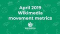 April 2019 Wikimedia movement metrics.pdf