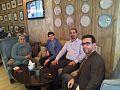 Arabic Wikipedians meeting in Taj mall, Amman.jpg