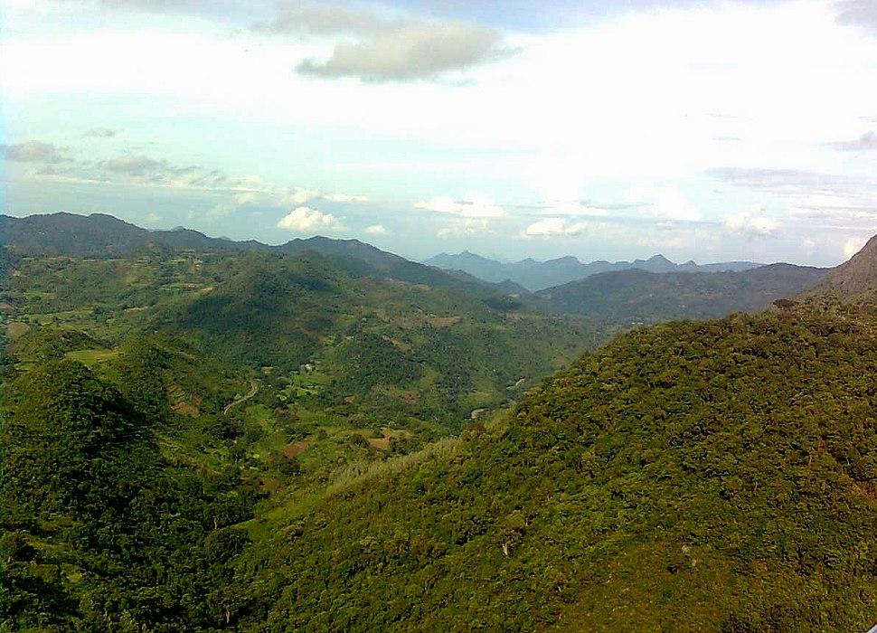 Araku Valley Scenic View Visakhapatnam District