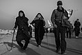 Arba'een In Mehran City 2016 - Iran (Black And White Photography-Mostafa Meraji) اربعین در مهران- ایران- عکس های سیاه و سفید 48.jpg