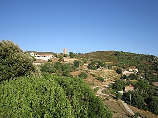 Arbellara Commune in Corsica, France