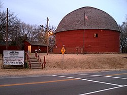 Arcadia's Round Barn, a Route 66 icon