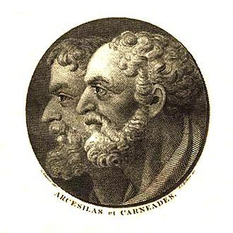 Arcesilaus - Arcesilaus and Carneades