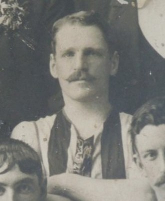 Archie Smith (footballer, born 1872) - Smith in 1901