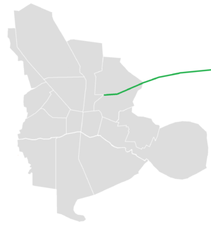 Ardestani Expressway - Image: Ardestani Expressway map
