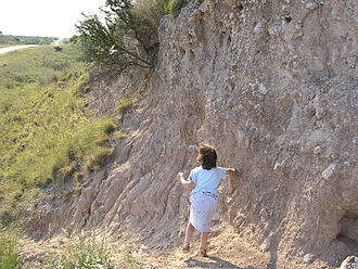 Loess - An outcrop of loess in Patagonia