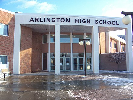 a variety of music in arlington high school With the growth and success of the marching band, and its increasingly elaborate scores, the stands at arlington high school remained full for their performance, which followed a cheerleading routine.