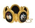 Armband av guld med mosaik, 1870-tal - Hallwylska museet - 110138.tif