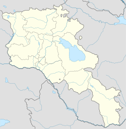 Bagaran is located in Armenia