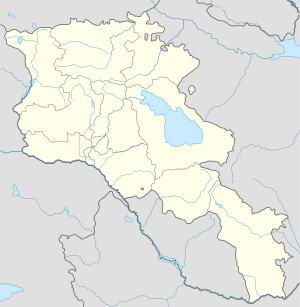 İrəvan is located in Ermənistan