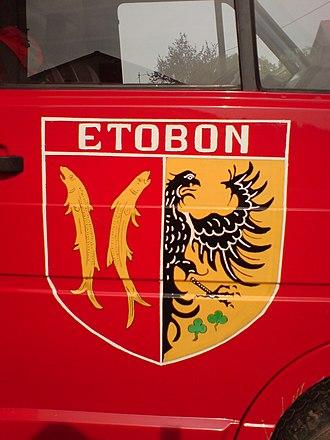 Étobon - Image: Armoiries d'étobon