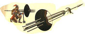 "Musketeer - Ming dynasty ""machine gun"""