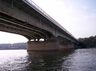 Árpád Bridge - Árpád bridge is the widest bridge of Budapest