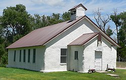 Arthur Pilgrim Holiness Church from NW.JPG
