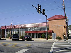 Ashburn City Hall SE corner.JPG