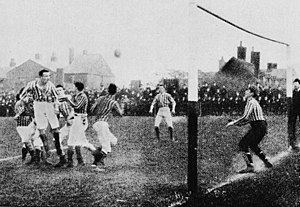 1887 FA Cup Final - Image: Aston villa west bromwich 1887 final