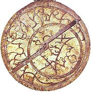 A 16th century astrolabe.