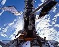 Astronauts C. Michael Foale and Claude Nicollier (27946756511).jpg