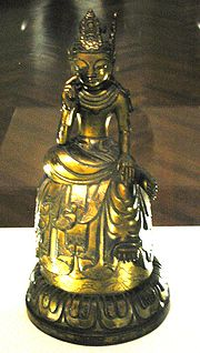 Bodhisattva, Asuka period, 7th century