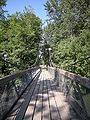 Auburn, Washington - suspension bridge in Isaac Evans Park 02.jpg