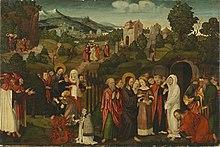 Auferweckung des Lazarus (Quelle: Wikimedia)