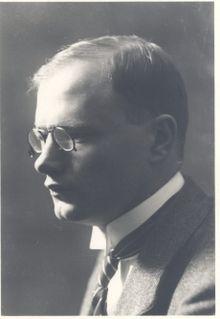August Gailit Estonian writer