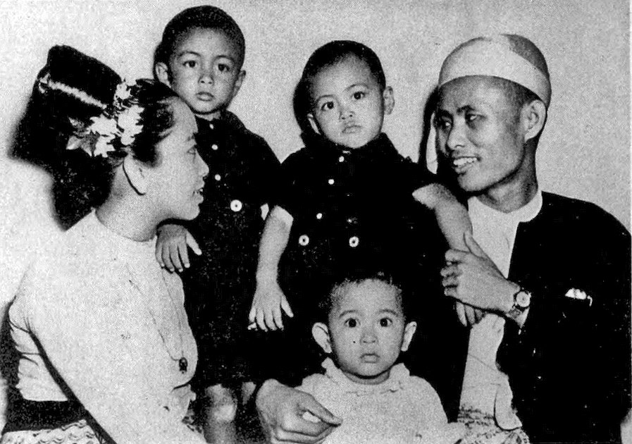 Aung San and family