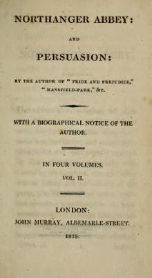 Austen - Northanger Abbey. Persuasion, vol. II, 1818.djvu