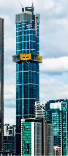 Australia 108 skyscraper currently under construction in Melbourne, Australia