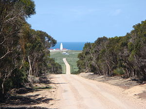 Dudley Peninsula - Cape Willoughby Lightstation. Cape Willoughby, Kangaroo Island