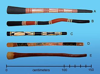 Didgeridoo - Image: Australiandidgeridoo s