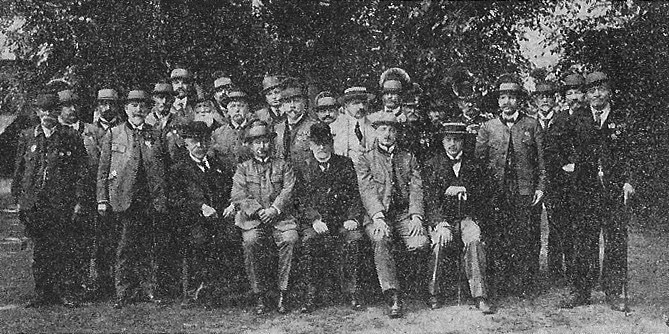 Austrian veterans of 1864