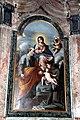 Autore ignoto, Sacra famiglia con i santi Antonio e Margherita 01.jpg