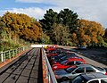 Autumn trees across car park, University of Exeter - geograph.org.uk - 1040562.jpg