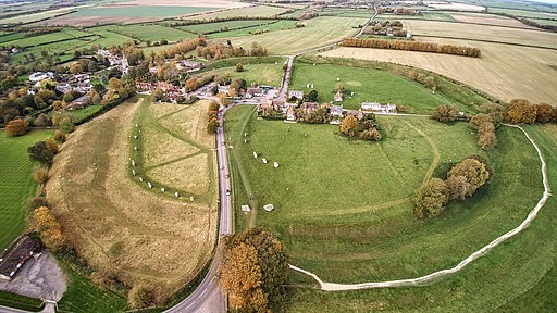 Avebury aerial