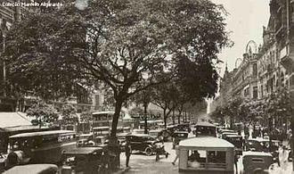 Avenida Rio Branco - Rio Branco Avenue in the 1930s
