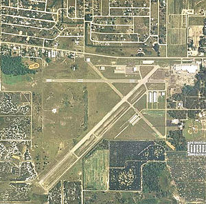 Avon Park Executive Airport - 2006 USGS airphoto